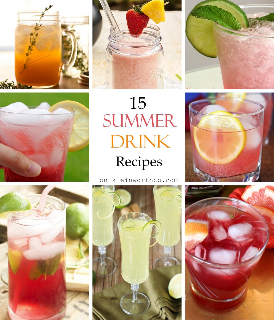 Easy Summer Drink Recipes Barcelona Eat Local Food Tours